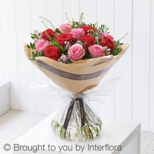 Valentines Dramatic Mixed Hand-tied