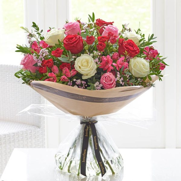 Valentines Forever Hand-tied